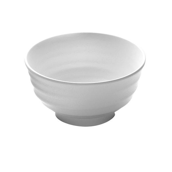 Elite Global Solutions JW1107 Zen 34 oz. White Bowl - 6/Case