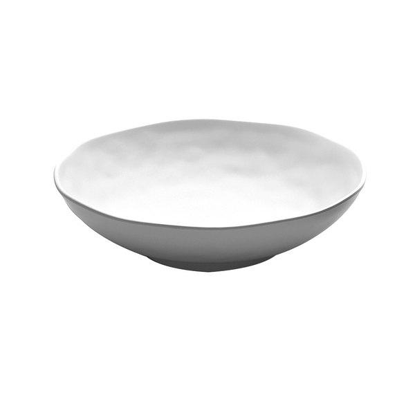 Elite Global Solutions JW1012 Zen 32 oz. White Round Bowl - 6/Case
