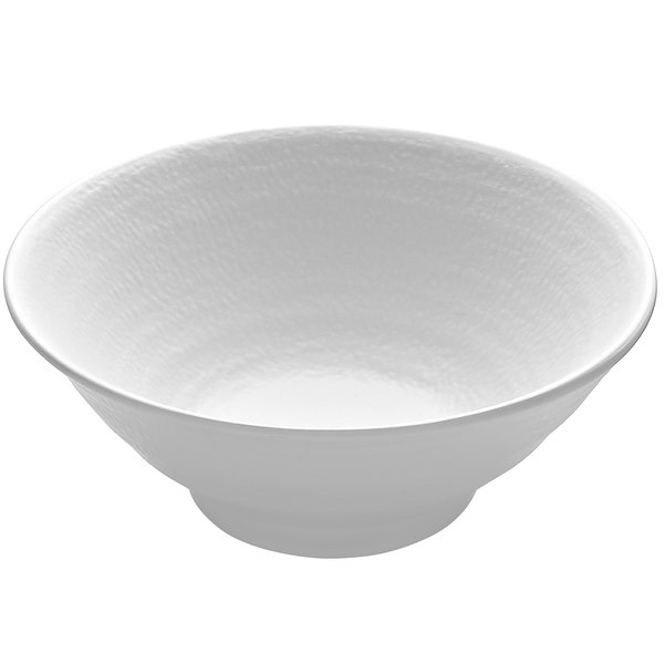 Elite Global Solutions JW1007 Zen 24 oz. White Bowl - 6/Case