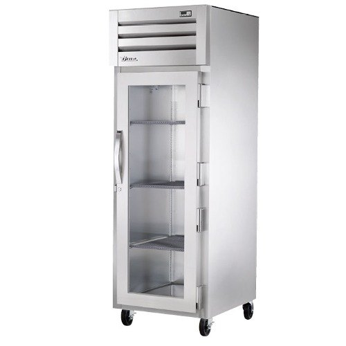 True STG1R-1G Specification Series One Section Glass Door Reach In Refrigerator - 31 Cu. Ft.