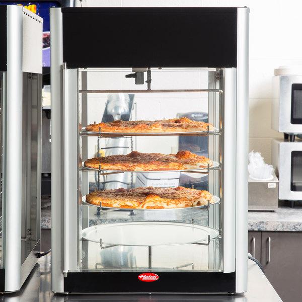 Hatco FDWD 2 Flav R Fresh 2 Door Humidified Impulse Hot Food Display Cabinet  With 4 Tier Circle Rack