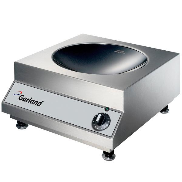 Garland GI-SH/WO 5000 Countertop Induction Wok Range - 208V, 3 Phase, 5 kW