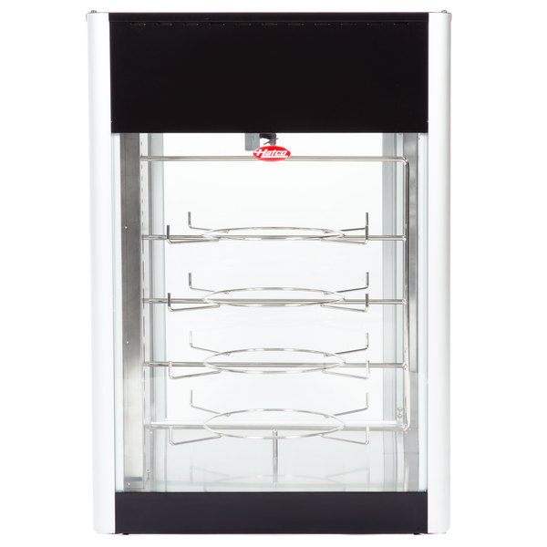 Hatco FDWD-1 Flav-R-Fresh Humidified Impulse Pizza / Hot Food Display Cabinet With 4 Tier Circle Rack