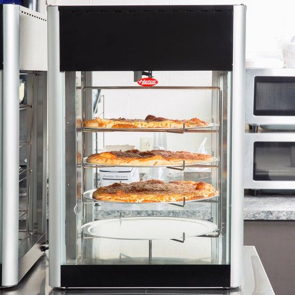 Hatco FDWD-1 Flav-R-Fresh Humidified Impulse Pizza / Hot Food Display Cabinet With 4 Tier Circle Rack Main Image 13