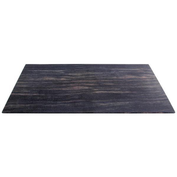 "Elite Global Solutions M1020 Fo Bwa Rectangular Faux Zebra Wood Melamine Shelf - 20"" x 10"""