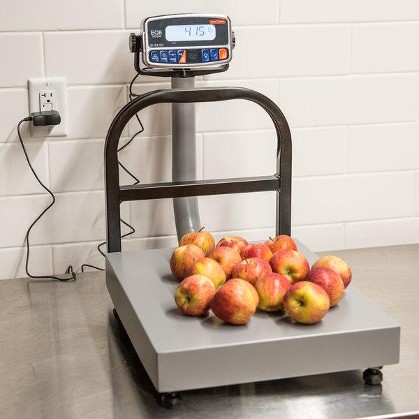 Tor Rey EQB-I 100/200 200 lb. Digital Counter-Top Receiving Scale