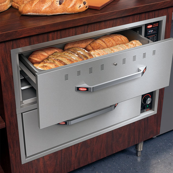 Hatco HDW-2B Built-In Two Drawer Warmer - 120V, 900W Main Image 3