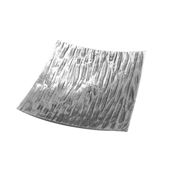 "Elite Global Solutions ALZ758 Savanna Zebra 7 5/8"" Square Dish"