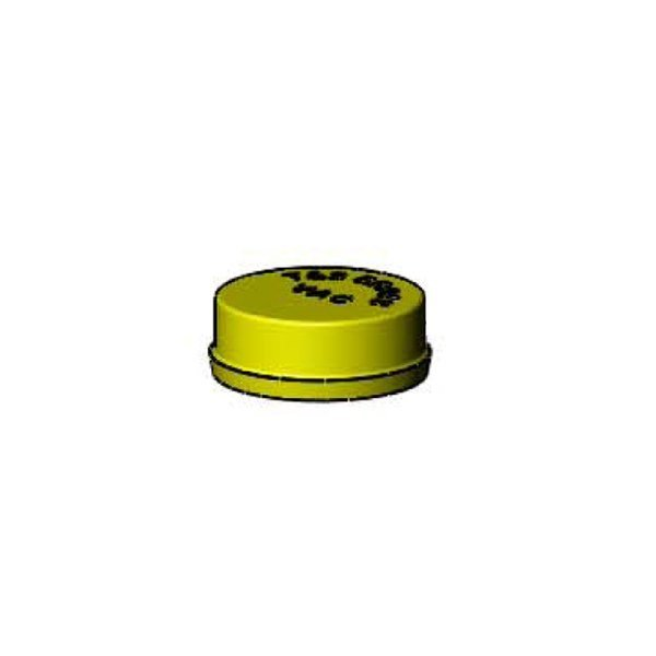 T&S 209L-VAC Yellow Snap In Index for Gas Fixtures Main Image 1