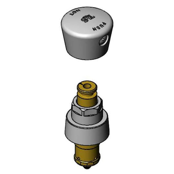 T&S 238AH Faucet Metering Cartridge with Hot Push Button