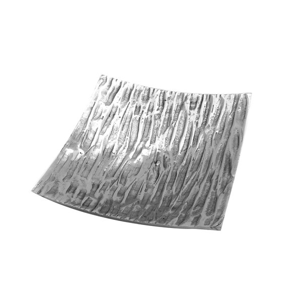 "Elite Global Solutions ALZ1025 Savanna Zebra 10 1/4"" Square Dish"