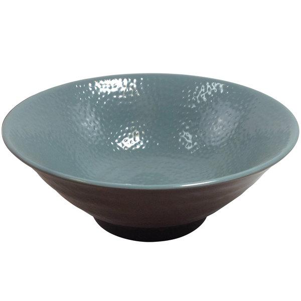 Elite Global Solutions D1008RR Pebble Creek Abyss-Colored 40 oz. Bowl - 6/Case