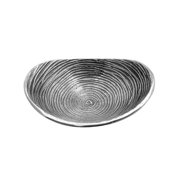 """Elite Global Solutions ALS13105 Savanna Spiral-Textured 13"""" x 10 1/4"""" Oval Dish"""