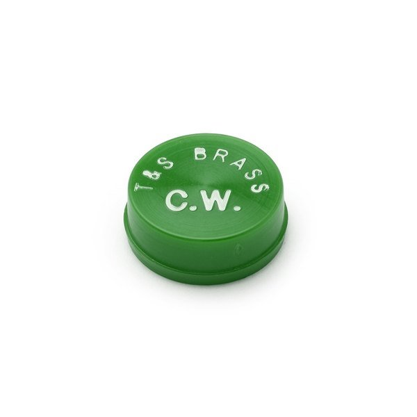 T&S 209L-CW Green Cold Water Snap In Index Main Image 1