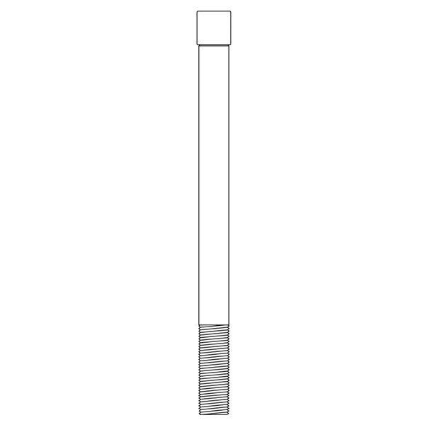 T&S 22GF Glass Filler Pedestal for B-1210 Old Style Assemblies Main Image 1