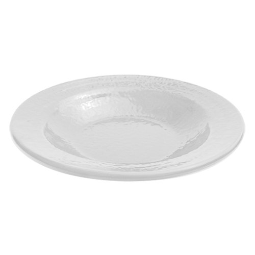 Elite Global Solutions D878RR Pebble Creek White 12 oz. Pasta / Soup Bowl - 6/Case