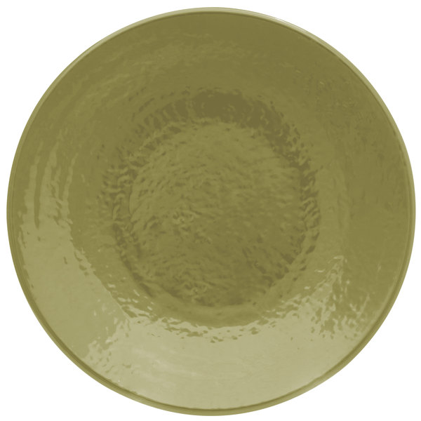 "Elite Global Solutions D9RR Pebble Creek Lizard-Colored 9"" Round Plate - 6/Case"