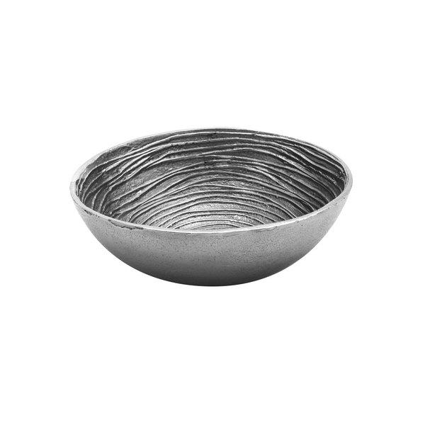 """Elite Global Solutions ALS7 Savanna Spiral-Textured 7 3/8"""" Round Bowl"""