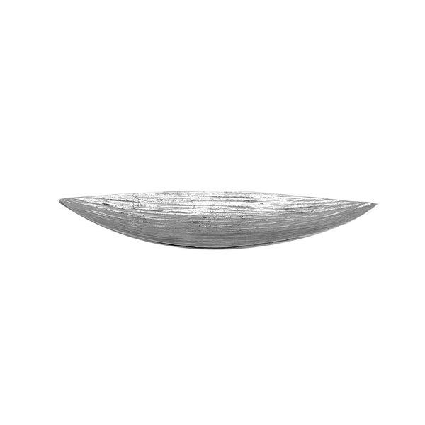 "Elite Global Solutions ALB257 Savanna Bark 25"" x 7"" Boat Dish"
