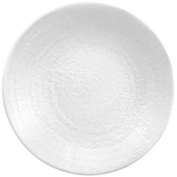 """Elite Global Solutions D10RR Pebble Creek White 10"""" Round Plate - 6/Case"""