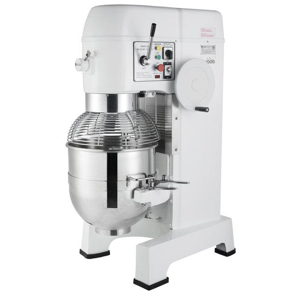 eurodib m60a 220etl 60 qt commercial planetary floor mixer with rh webstaurantstore com
