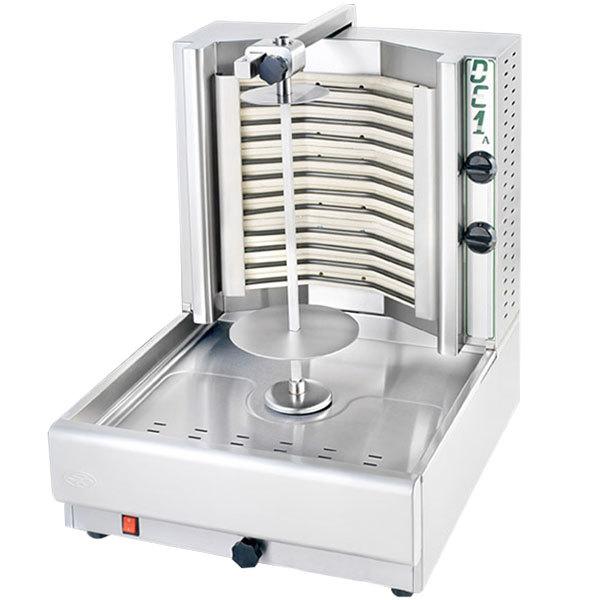 """Visvardis DE4A 45"""" Electric Gyro Machine - 200 lb. Capacity"""