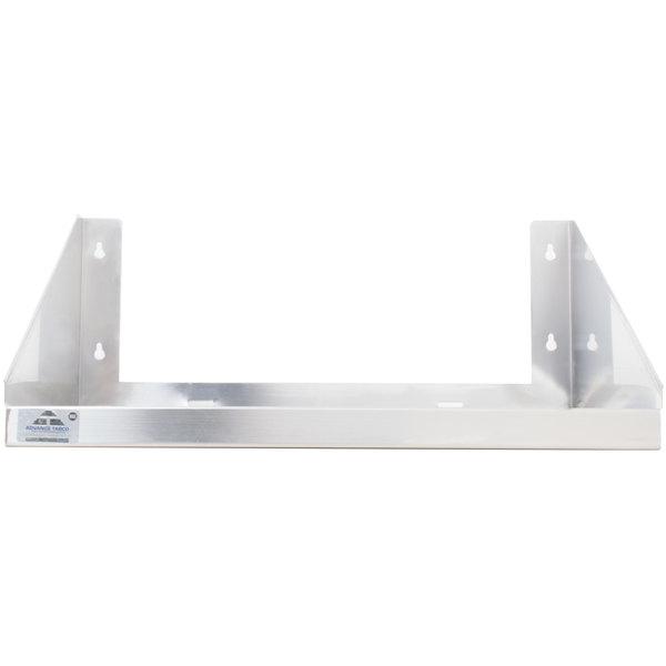 "Advance Tabco MS-18-24-EC 24"" x 18"" Stainless Steel Microwave Shelf"
