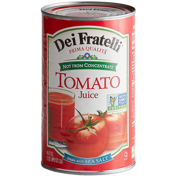 46 oz. Canned Tomato Juice - 12/Case Main Image 1