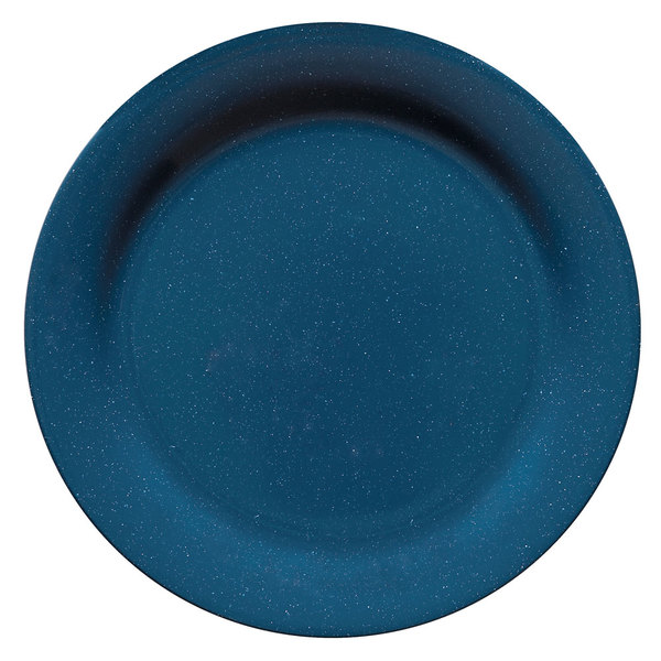 "GET BF-010-TB Texas Blue 10"" Plate - 12/Case"