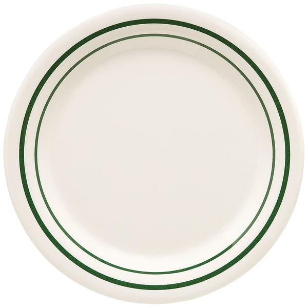 "GET BF-090-EM Emerald 9"" Plate - 24/Case"