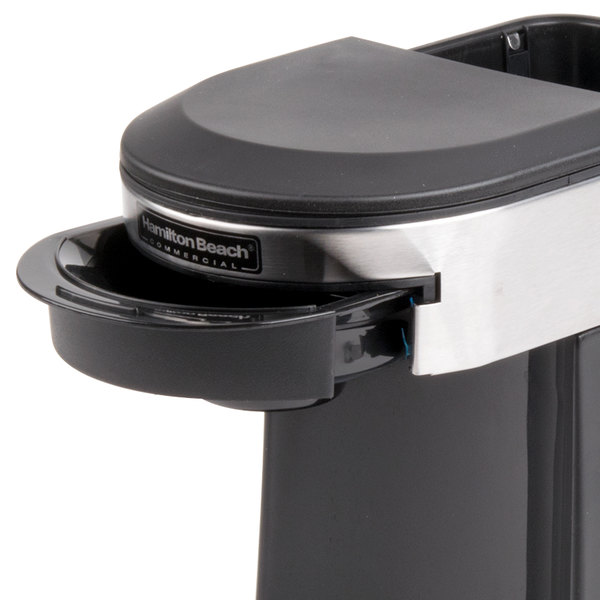 Hamilton Beach RPH200 Recyclable Pod Holder for HDC200B and HDC200S Coffee Makers - 500/Case Main Image 5