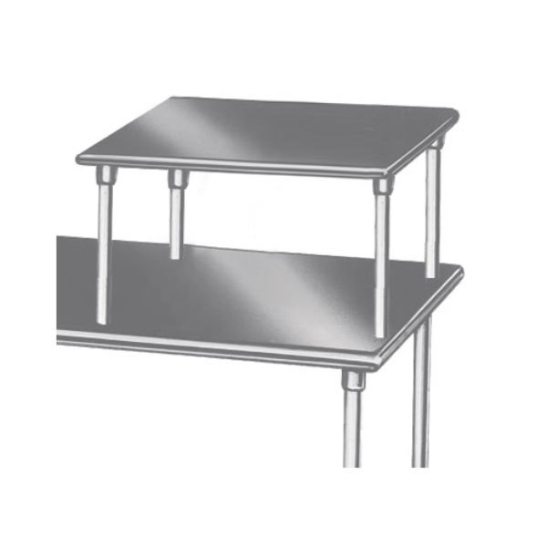 "Advance Tabco MST-24-36 Table Mounted 24"" x 36"" Equipment Shelf"