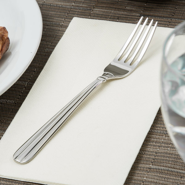 Oneida 2347FPLF Unity 18/10 Stainless Steel Heavy Weight Dinner Fork - 36/Case