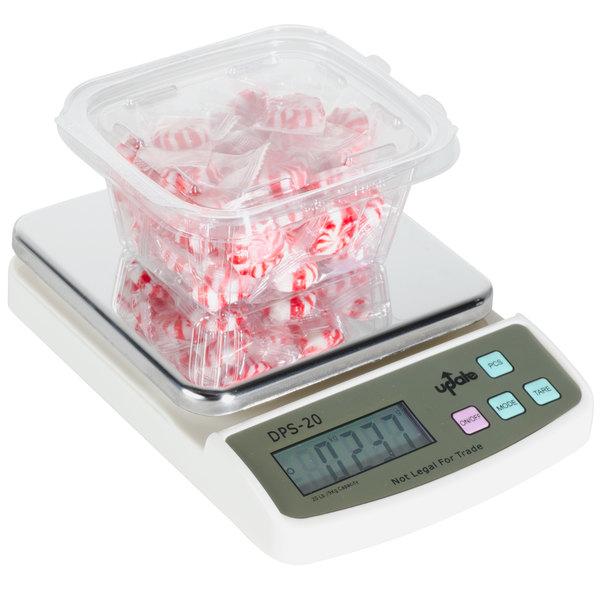 20 lb. / 9 kg. Compact Digital Scale