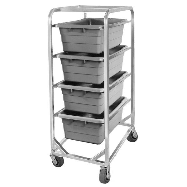Channel 504LA Mobile Aluminum Lug Rack - 4 Lug Capacity