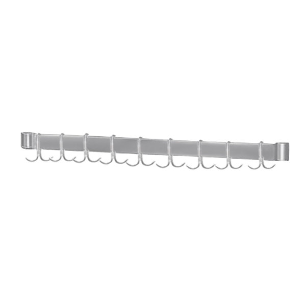 "Advance Tabco AUR-132 Smart Fabrication 132"" Stainless Steel Utensil Rack"