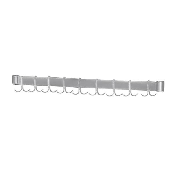 """Advance Tabco AUR-144 Smart Fabrication 144"""" Stainless Steel Utensil Rack"""