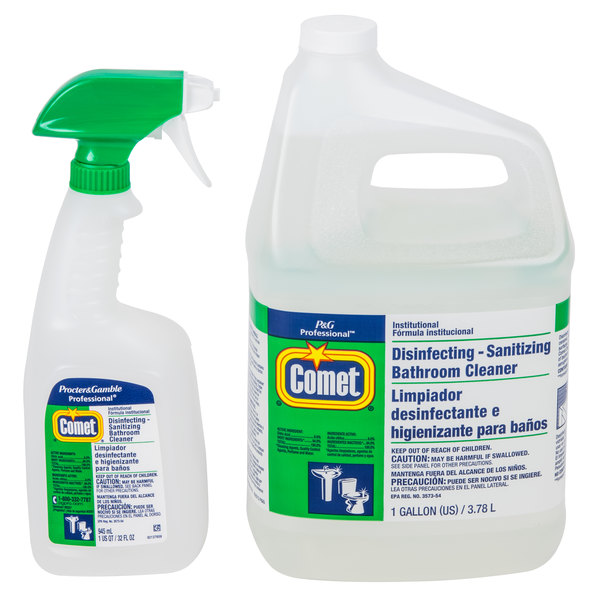 Procter Gamble Gallon Oz Comet Disinfecting - Professional bathroom cleaning services