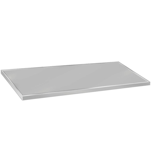"""Advance Tabco VCTC-247 25"""" x 84"""" Flat Top Stainless Steel Countertop"""