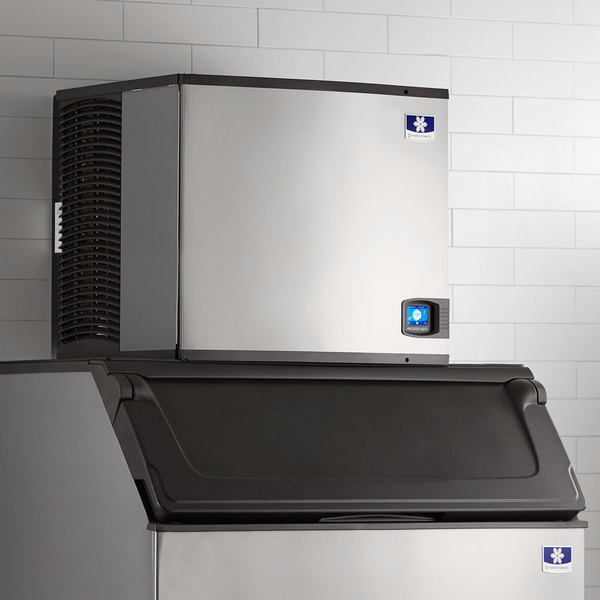 "Manitowoc ID-0906A Indigo Series 30"" Air Cooled Full Size Cube Ice Machine - 208V, 1 Phase, 874 lb."