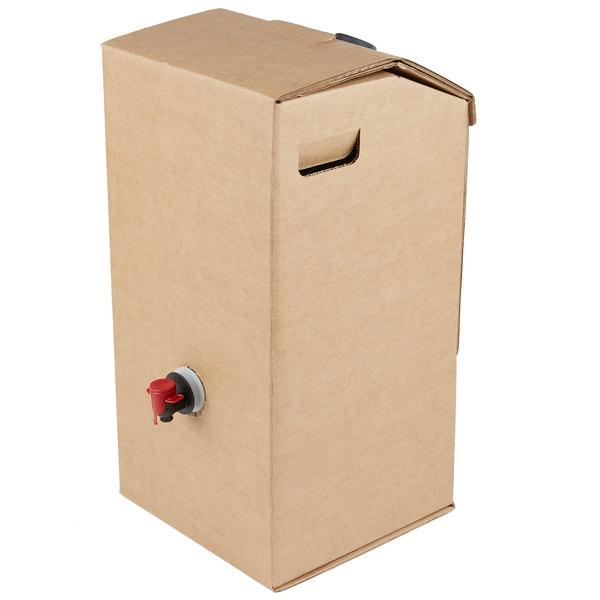 160 oz.20//Case LBP Beverage On The Move Beverage Carrier Kraft