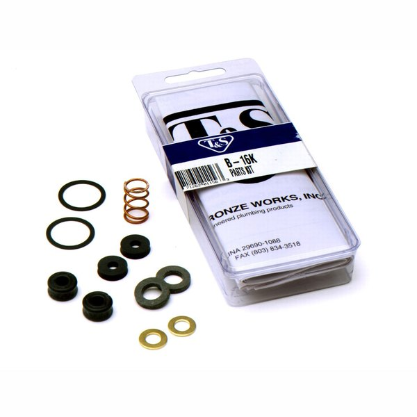 T&S B-16K Replacement Parts Kit for B-0107 Pre-Rinse Spray Valves