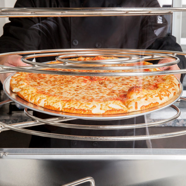 "American Metalcraft TP9 9"" Wide Rim Pizza Pan"