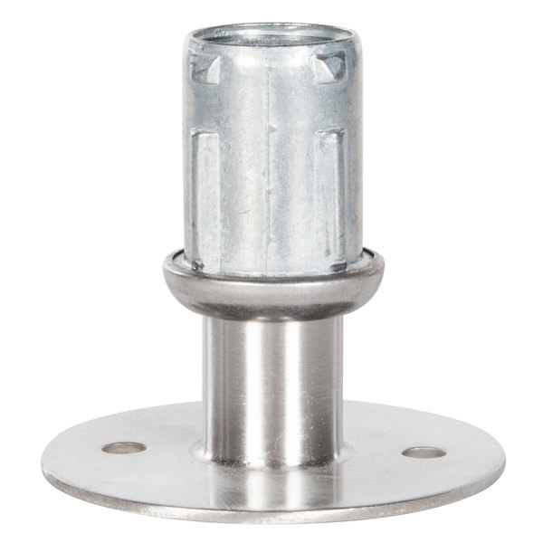 Advance Tabco K-488 Equivalent Flanged Stainless Steel Foot Main Image 1