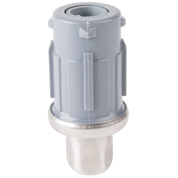 Advance Tabco K-478 Equivalent Stainless Steel Bullet Foot for Dish Tables and Compartment Sinks