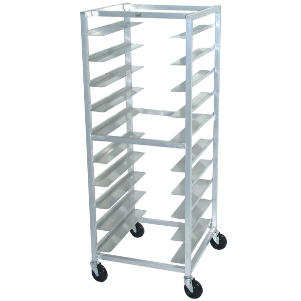 Advance Tabco OT10-6 10 Pan End Load Oval Tray Rack - Assembled Main Image 1