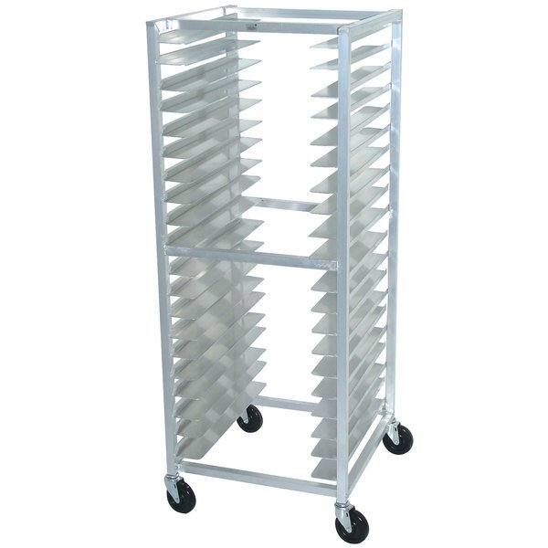 Advance Tabco OT20-3 20 Pan End Load Oval Tray Rack - Assembled