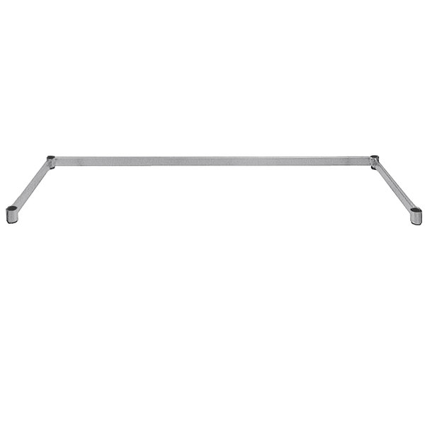 "Advance Tabco SF-1860 Three-Sided Chrome Wire Shelving Frame 18"" x 60"""