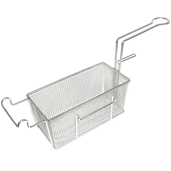 "Bakers Pride 300611 17"" x 8"" x 6"" Fryer Basket with Front Hook"