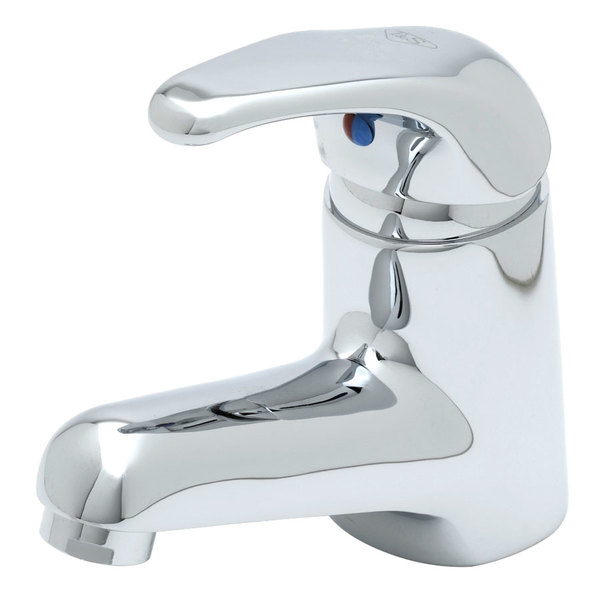 "T&S B-2701 2.2 GPM Single Lever Faucet with 16"" Supply Hoses, Temperature Limit Adjustment, and Cerama Cartridges"